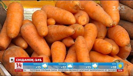 В Украине дешевеют овощи - экономические новости