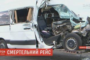 Мікроавтобус, який потрапив у ДТП з дітьми у Білорусі, не мав дозволу на перевезення