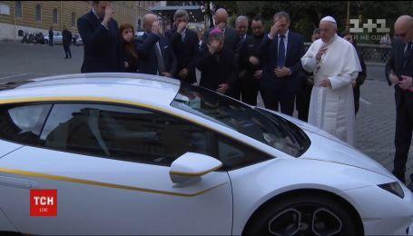 Lamborghini Папы Римского продали с аукциона за рекордные 715 тысяч долларов