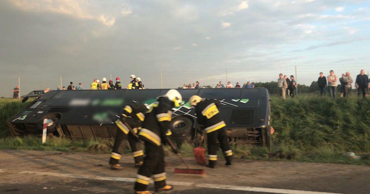 ВПольше попал в трагедию автобус сукраинцами