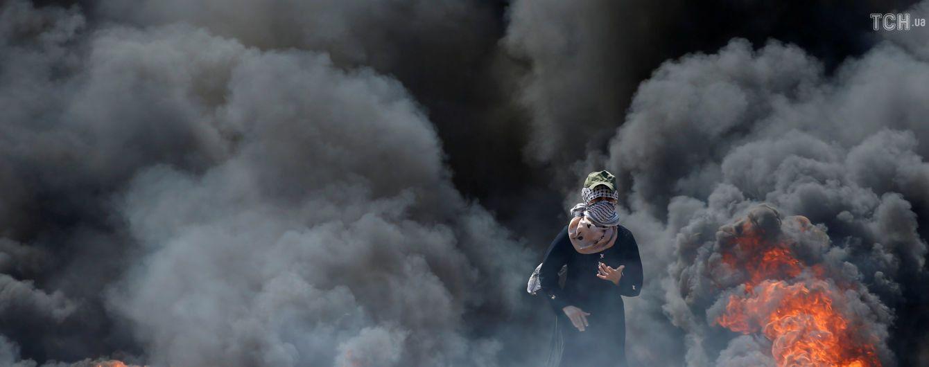 Зросла кількість загиблих у сутичках на кордоні з сектором Гази