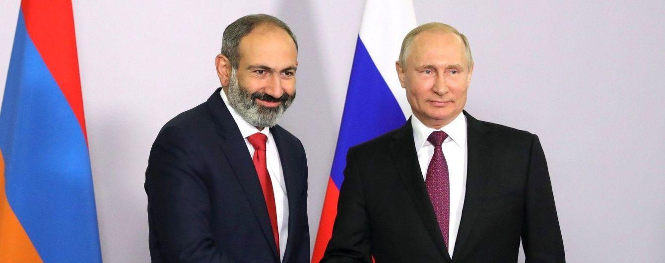 Пашинян впервые поговорил с Путиным после избрания