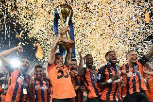 """Порошенко привітав """"Шахтар"""" з чемпіонством і напророкував повернення в """"деокупований Донецьк"""""""