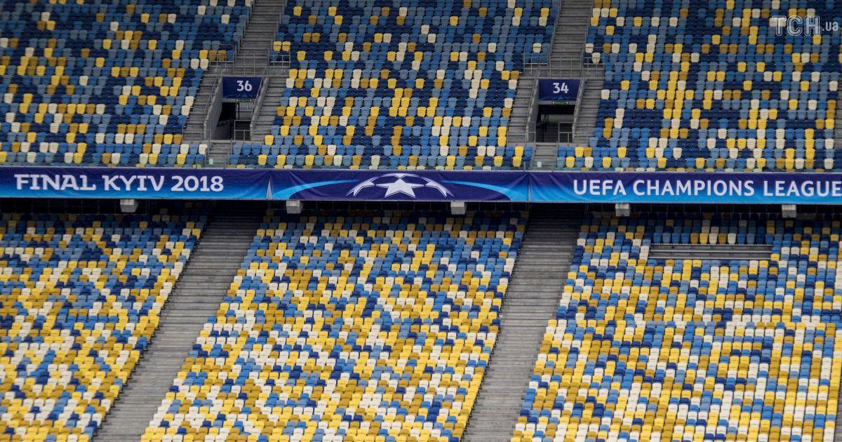 """НСК """"Олимпийский"""" готовят к финалу Лиги чемпионов, который состоится 26 мая.   Фото - Надежда Мельниченко"""