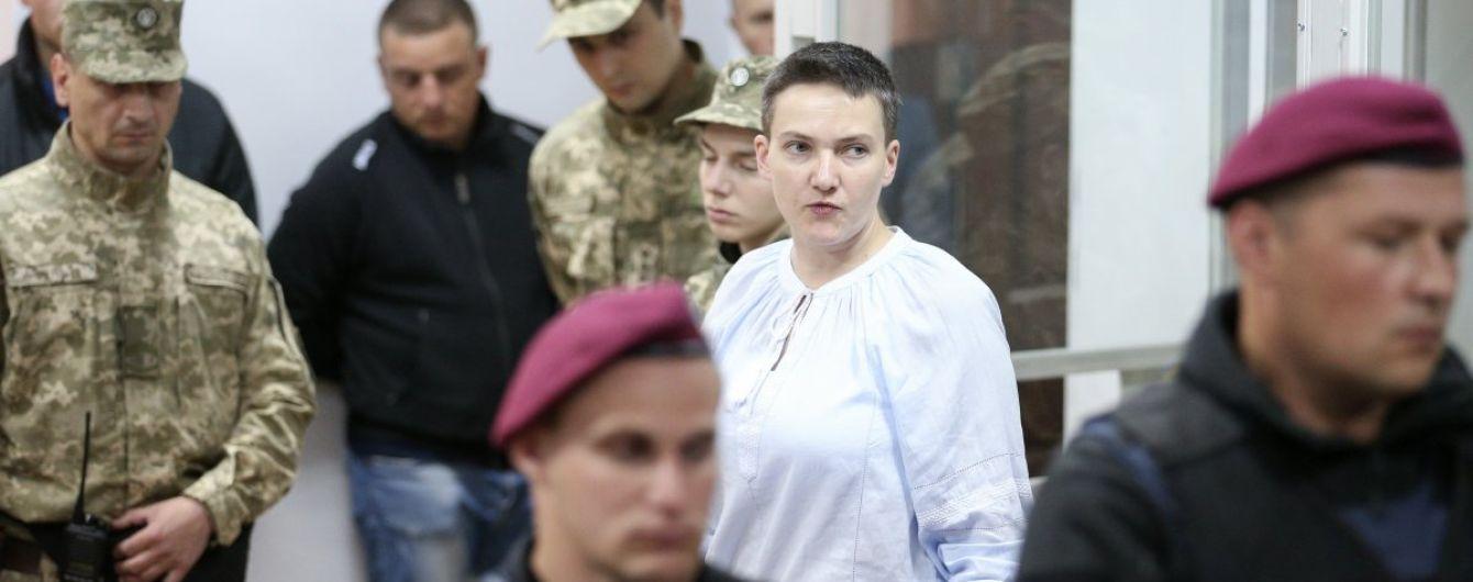 Савченко объяснила свою голодовку и отказалась от присмотра врачей