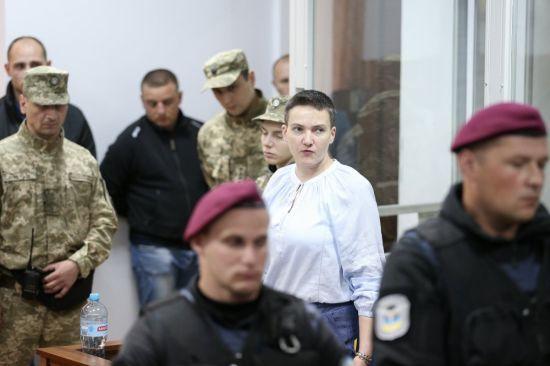 Савченко пояснила своє голодування та відмовилась від нагляду лікарів