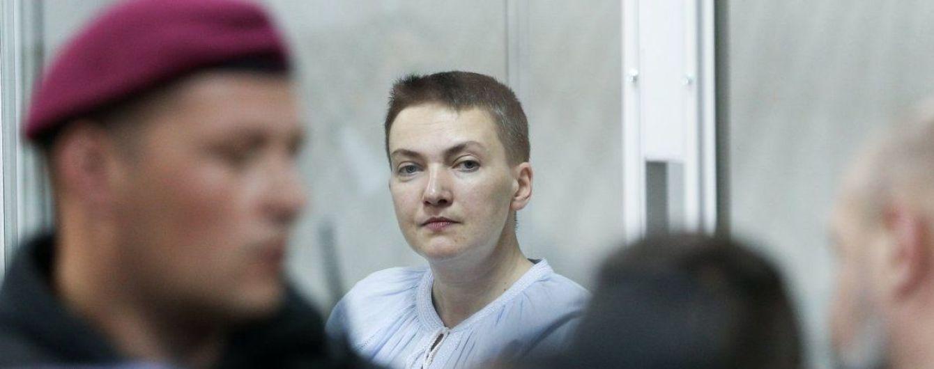Адвокат рассказал, что Савченко в СИЗО похудела на 20 кг