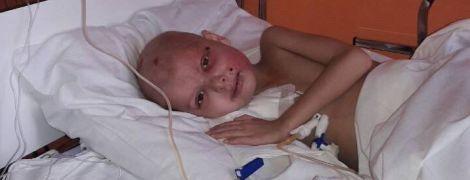 Ілона потребує дорогої трансплантації кісткового мозку