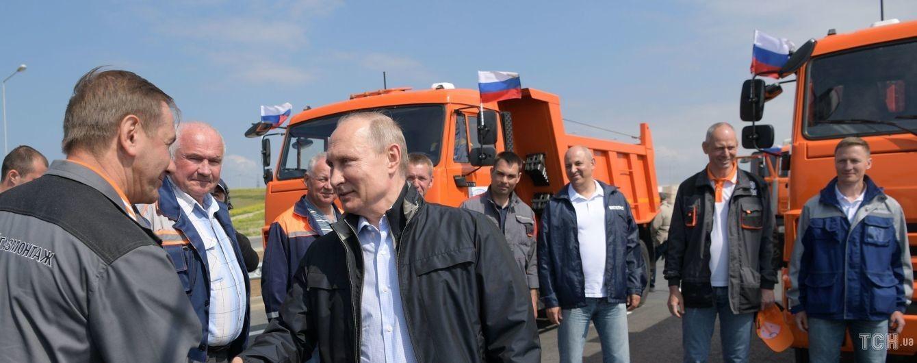 Крым является частью Украины: США осудили возведение Россией Керченского моста