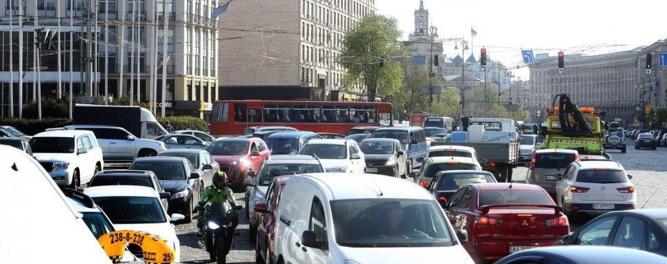 Эксперт объяснил причины невероятных пробок в Киеве
