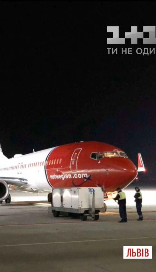 Самолет норвежской компании совершил экстренное приземление в Львовском аэропорту