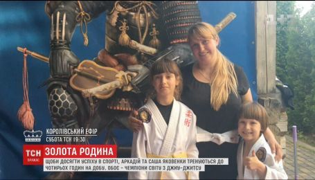 Діти мотивували маму займатися боротьбою, після чого вона здобула медаль на світових змаганнях