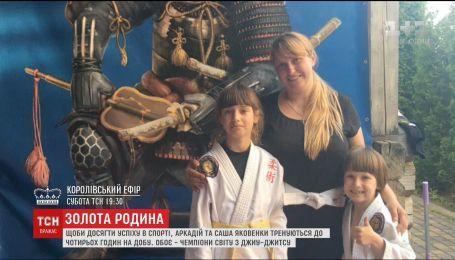 Дети мотивировали маму заниматься борьбой, после чего она получила медаль на мировых соревнованиях