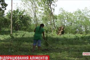На Кіровоградщині жінка може 13 років відпрацьовувати 130-тисячний борг з аліментів