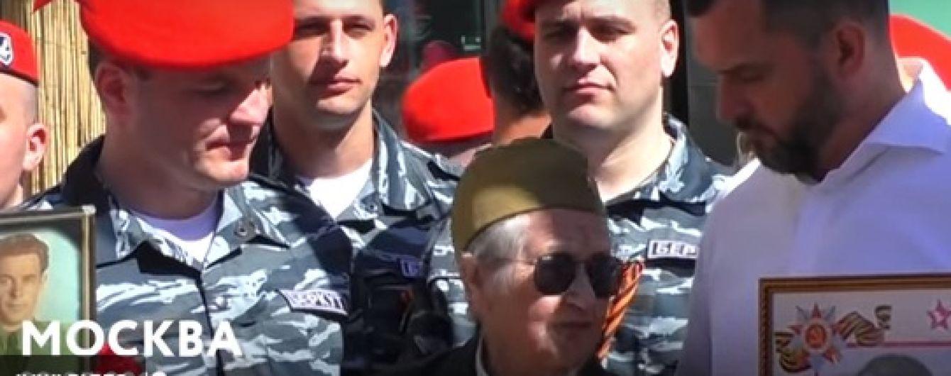В Москве на параде 9 мая заметили трех экс-беркутовцев, которых разыскивают за убийства майдановцев