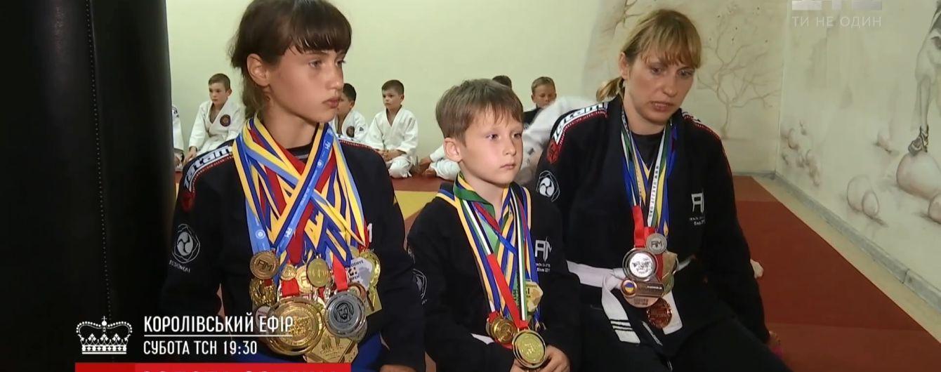 Маленькі брат і сестра з Києва стали чемпіонами світу з джіу-джитсу