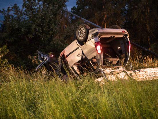 В Італії авто з українцями вилетіло з дороги й перекинулося, є загиблі