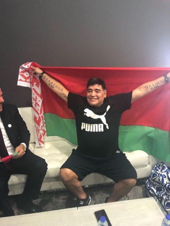 Легендарний Марадона працюватиме у клубі Мілевського