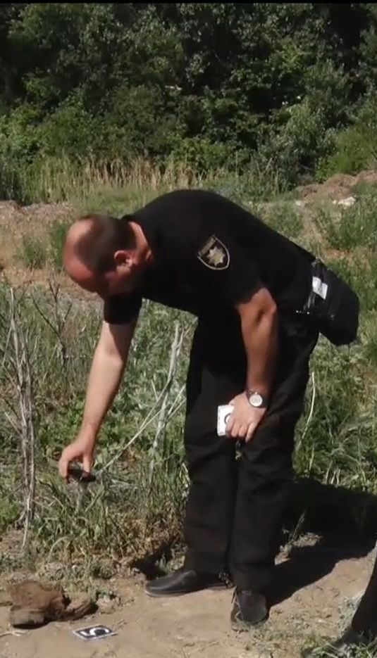 Біля Дніпра на звалищі знайшли речі загиблих в АТО бійців