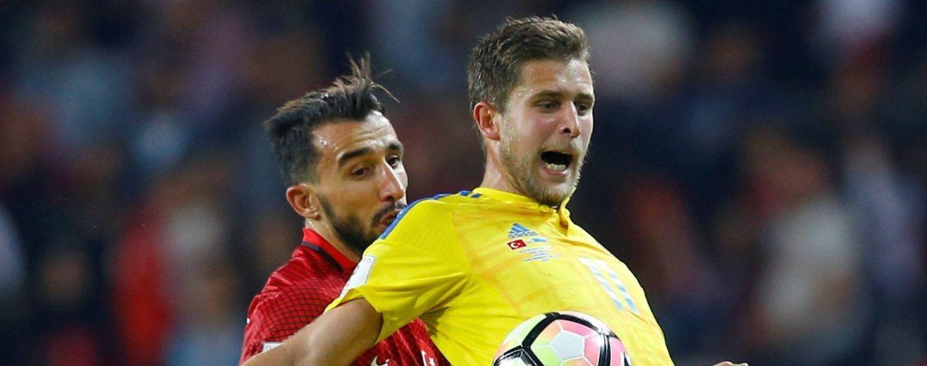Шевченко вызвал Кравца в сборную Украины, а затем перевел в резерв