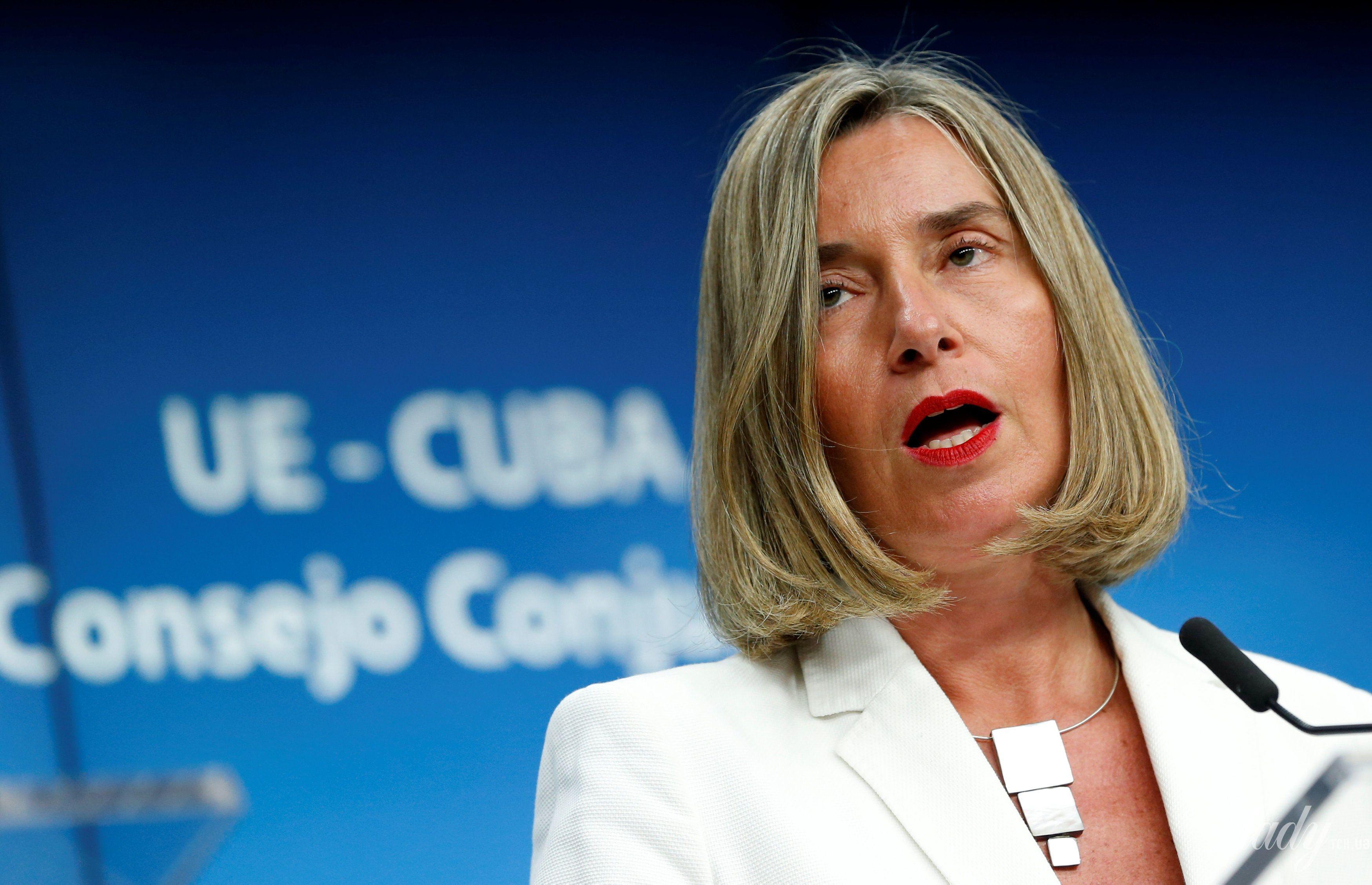 Глава дипломатии ЕС Федерика Могерини_3