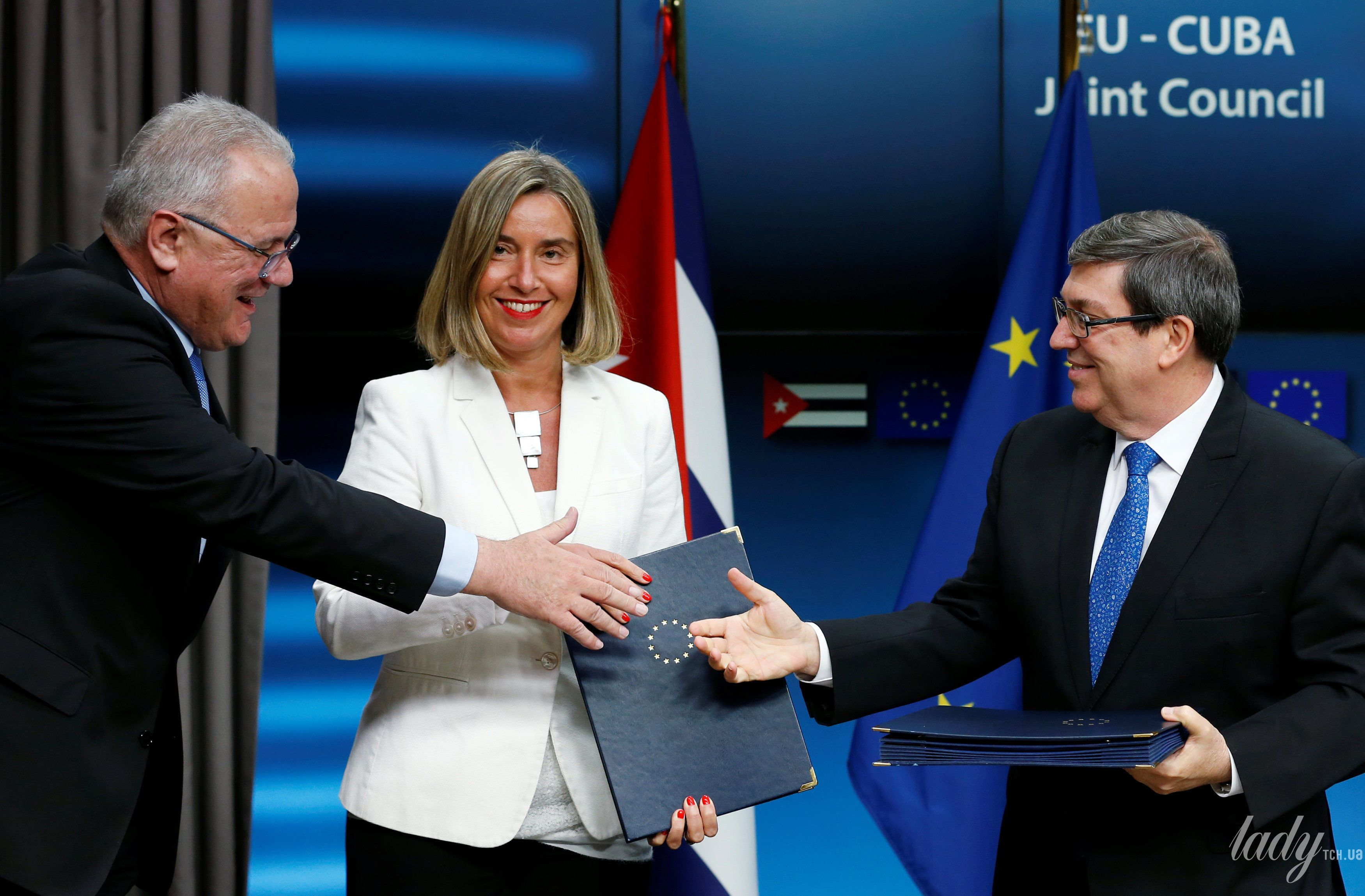Глава дипломатии ЕС Федерика Могерини_2