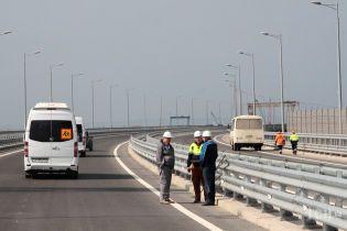 Окупанти розповіли, скільки простоїть незаконний Кримський міст