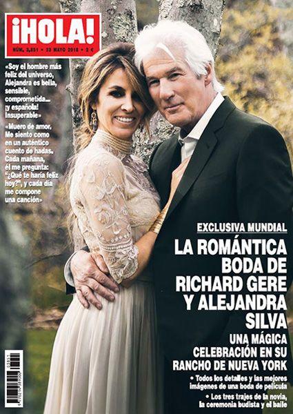 Річард Гір з дружиною