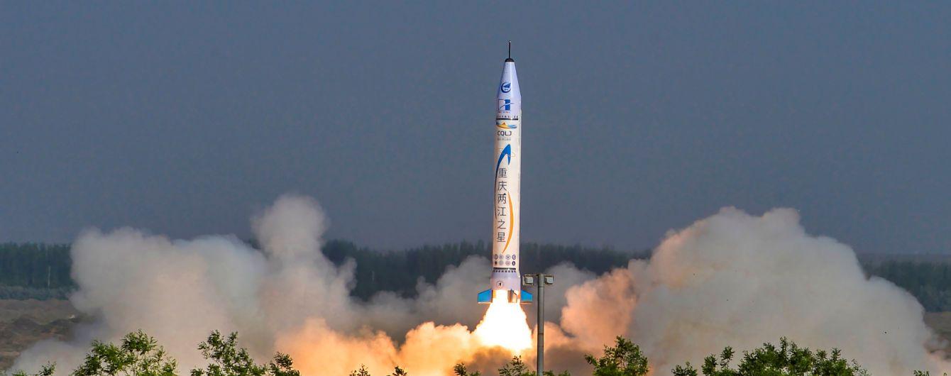 Китайская частная компания впервые в истории запустила ракету в космос
