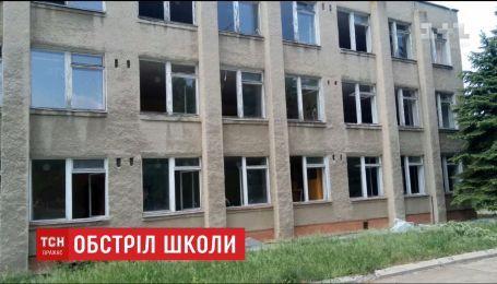 Боевики обстреляли школу с детьми в Светлодарске