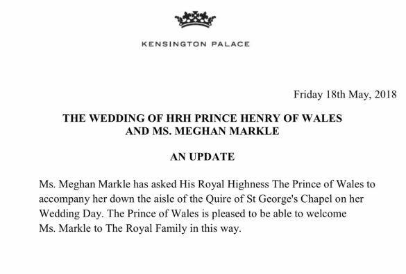 Заявление Кенсингтонского дворца