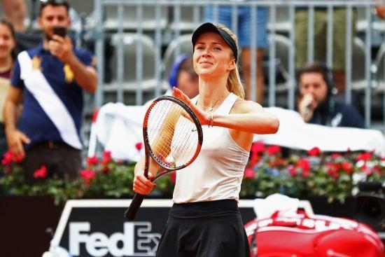 Свитолина уверенно вышла в полуфинал турнира в Риме