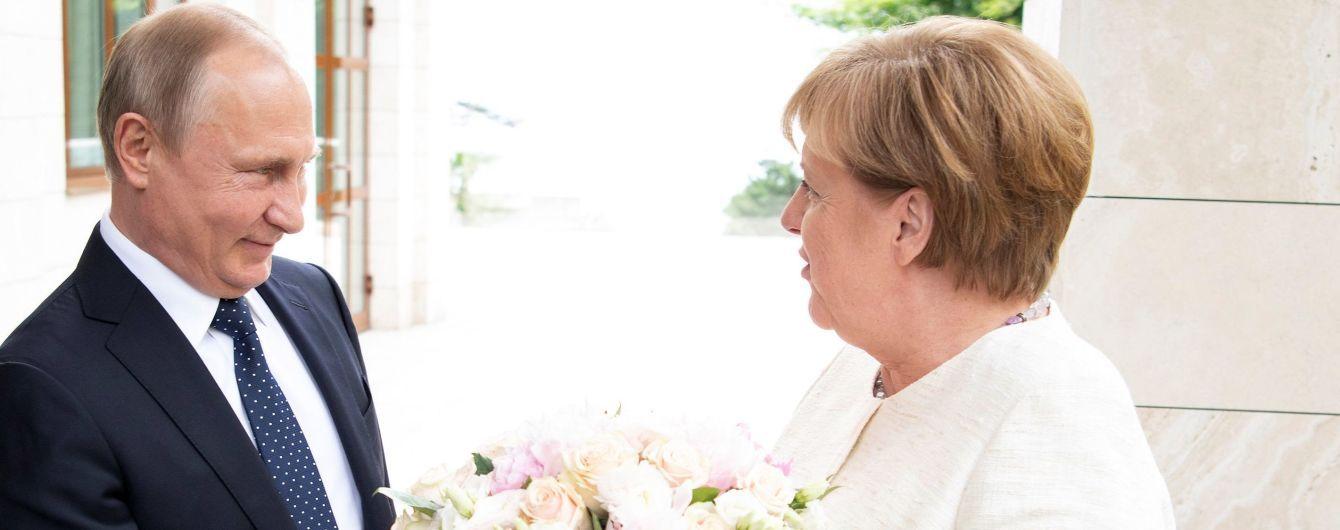 Меркель приехала в Сочи на встречу с Путиным