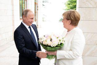 Меркель приїхала до Сочі на зустріч з Путіним