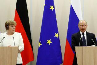 Меркель раскрыла суть разговора с Путиным о войне в Украине