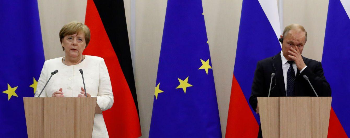 """Заняться миссией ООН на Донбассе. Меркель назвала условие встречи """"нормандской четверки"""""""