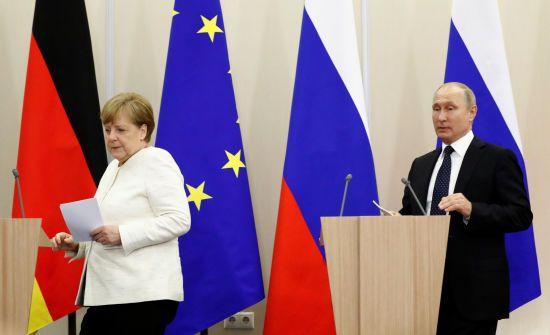 """У """"Северного потока-2"""" нет цели остановить транзит газа через Украину - Меркель"""