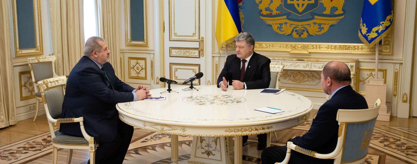 Порошенко отзовет из ВР законопроект о гражданстве после разговора с лидерами крымских татар