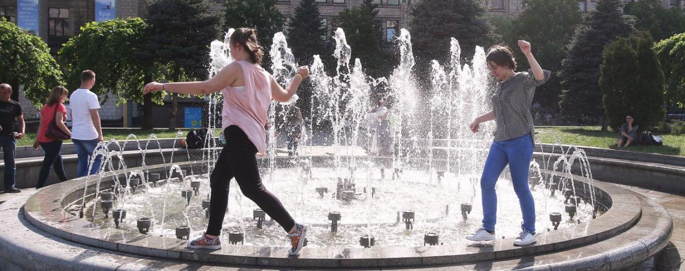 Метеорологічна весна в Києві тривала лише місяць та встановила 17 температурних рекордів