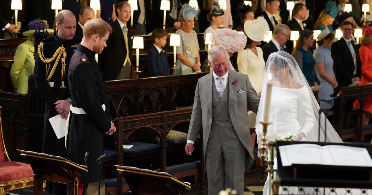 Принц Чарльз и Меган