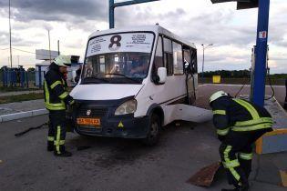 В Кропивницком на автозаправке произошел взрыв