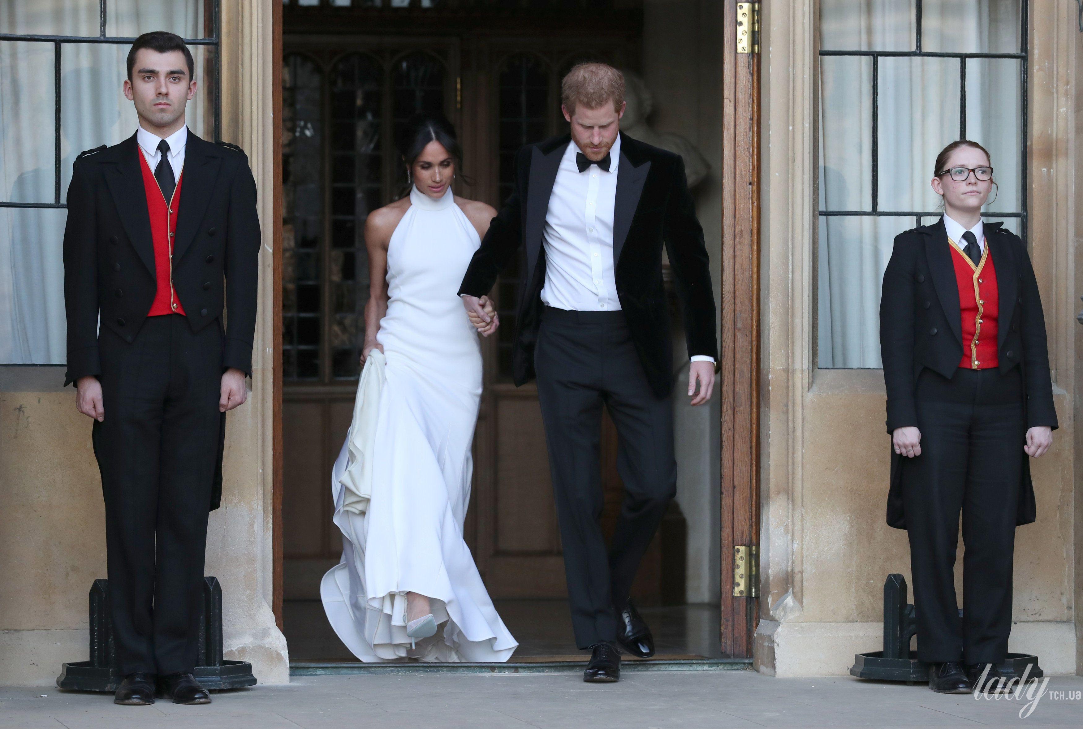 Второе свадебное платье Меган Маркл_4
