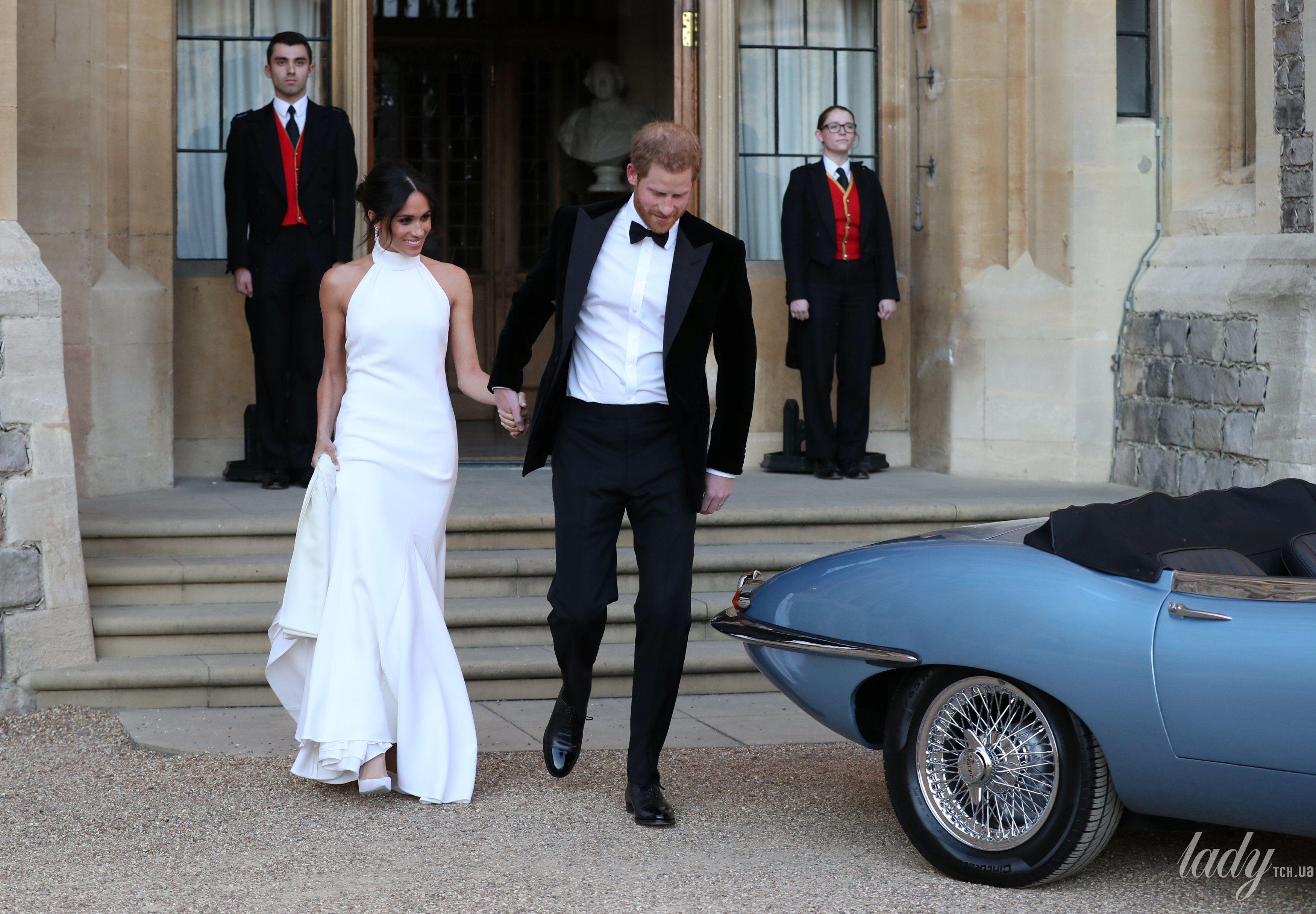 Второе свадебное платье Меган Маркл_2