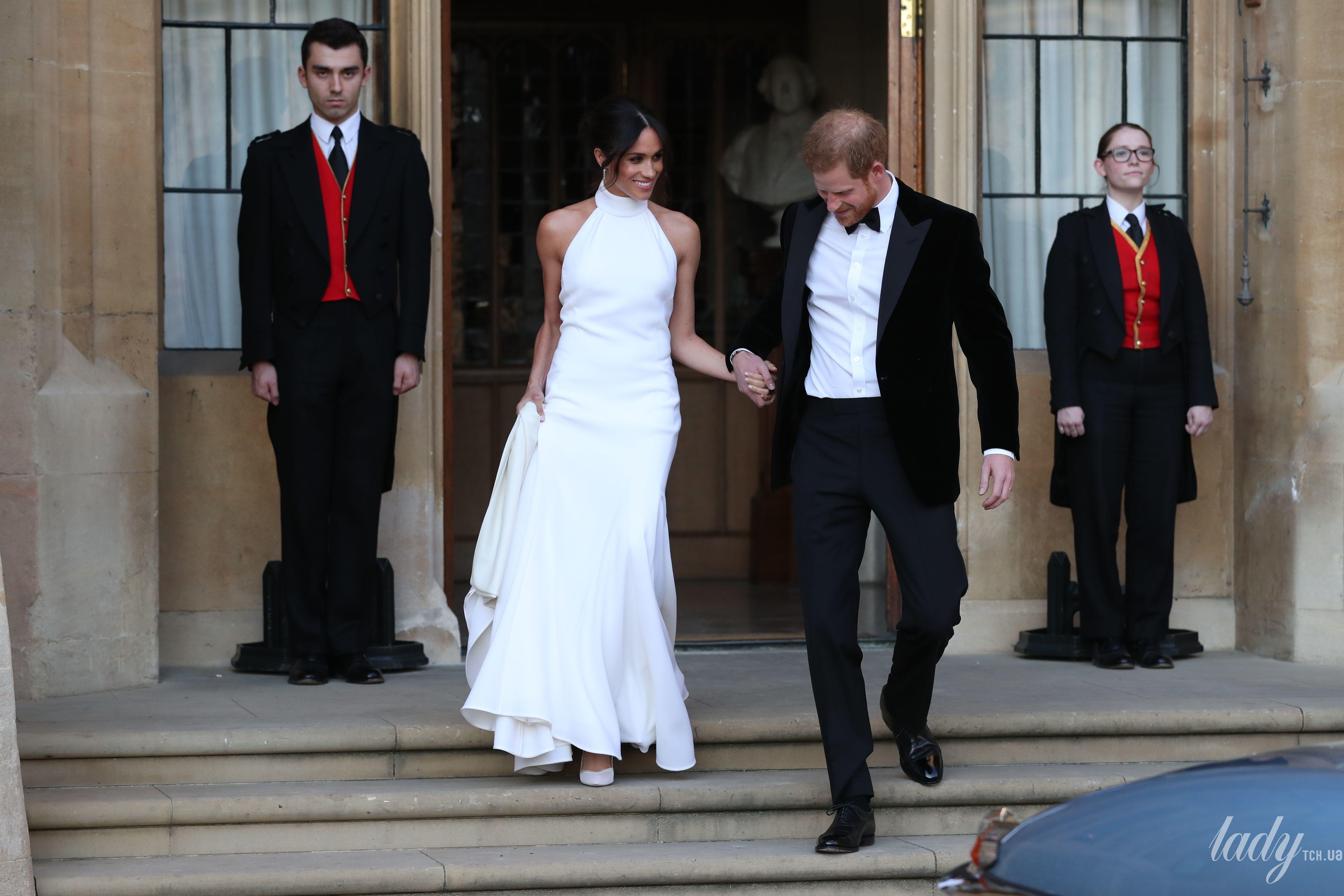 Второе свадебное платье Меган Маркл и принца Гарри