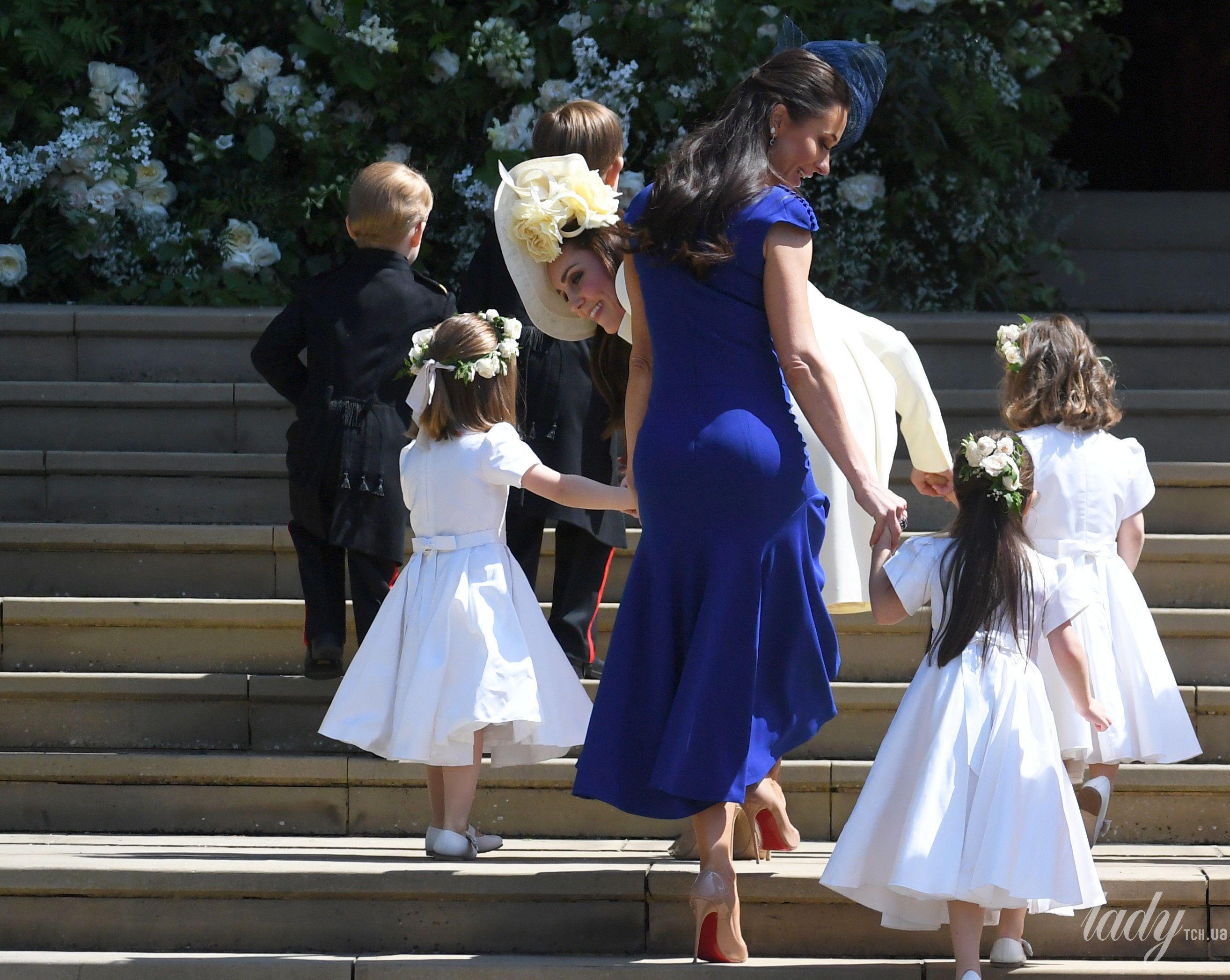 Герцогиня Кембриджская на королевской свадьбе_5