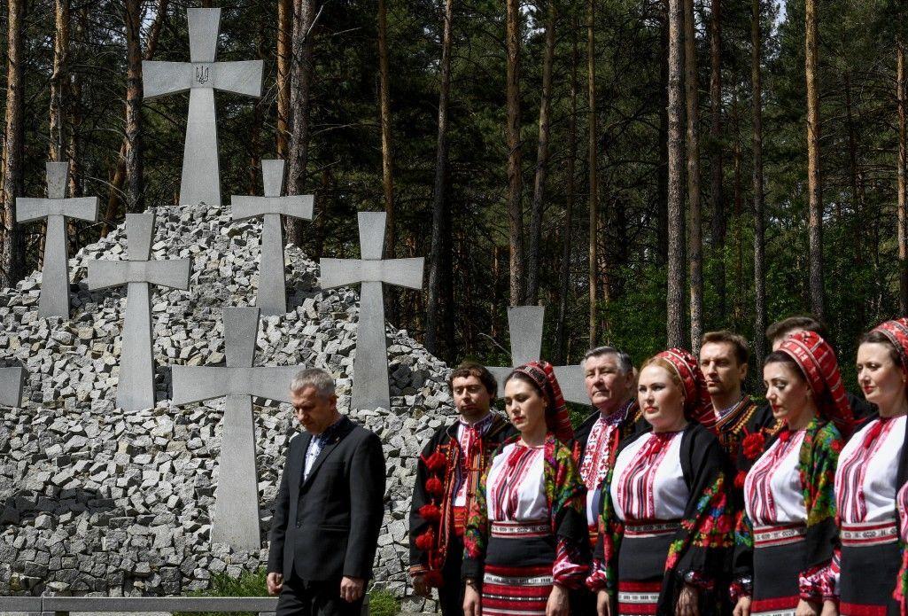 Порошенко, День вшанування жертв політичних репресій, Биківня_3
