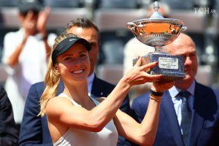 Світоліна розгромила першу ракетку світу та стала переможницею турніру в Римі