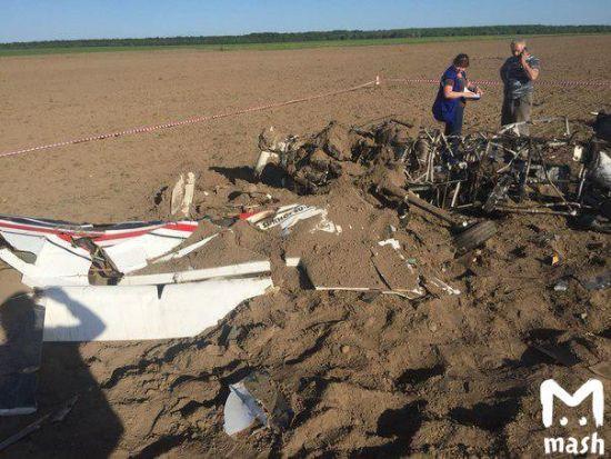 У Росії під час жорсткої посадки легкомоторного літака загинув пілот