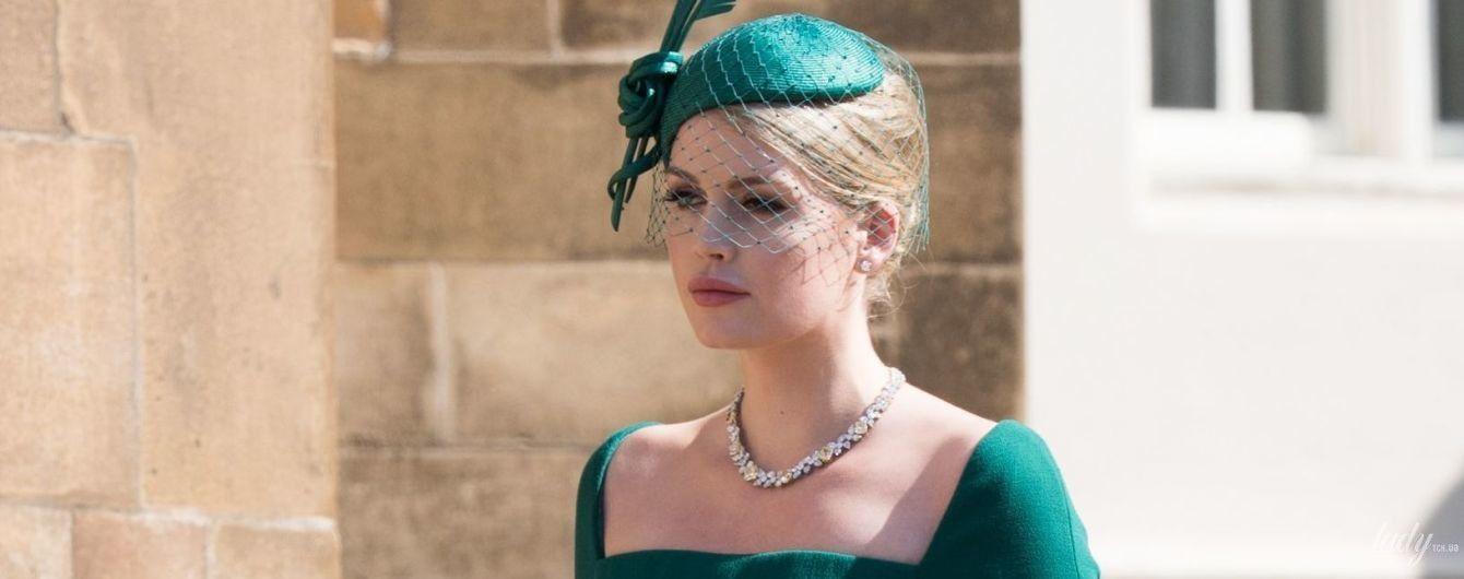 Самая красивая гостья: сестра принца Гарри – Китти Спенсер, пришла на его свадьбу в роскошном наряде