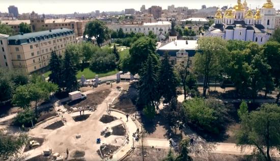 Кличко анонсував відкриття оновленого парку в центрі Києва